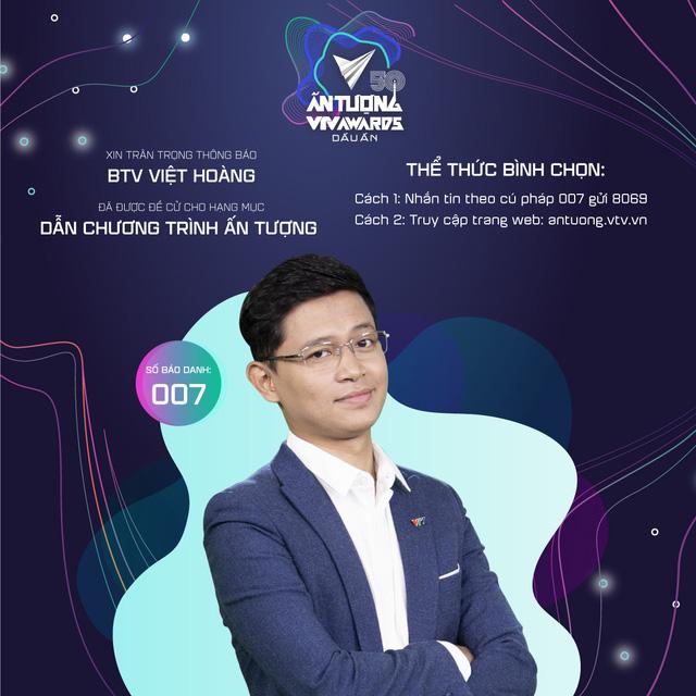 VTV Awards 2020: Việt Hoàng - BTV cà khịa lắm biệt danh nhất VTV - Ảnh 2.