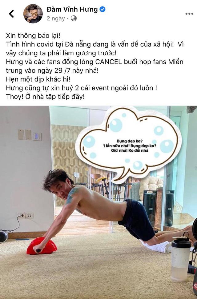Đàm Vĩnh Hưng, Bảo Thanh và sao Việt đồng loạt cổ vũ Đà Nẵng chống dịch COVID-19 - Ảnh 2.