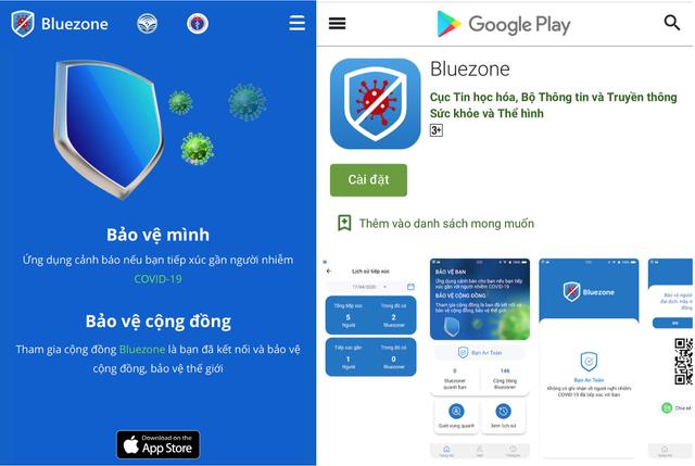 Người dân Đà Nẵng được khuyến cáo cài đặt ứng dụng Bluezone cảnh báo nguy cơ lây nhiễm COVID-19 - Ảnh 1.