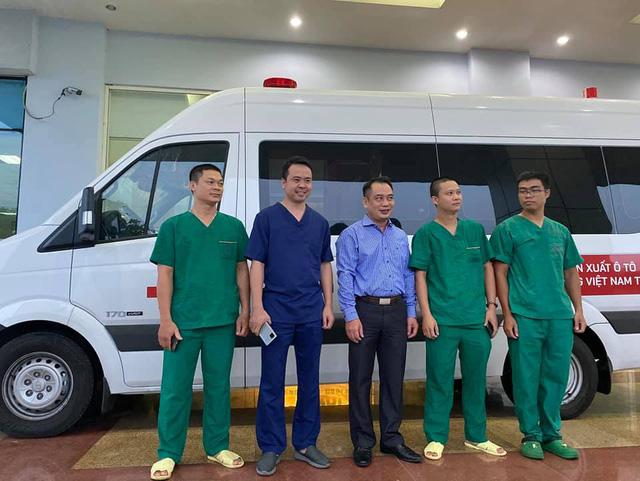 4 y, bác sĩ Bệnh viện Bệnh nhiệt đới Trung ương lên đường giải cứu 129 công dân Việt Nam mắc COVID-19 về nước - Ảnh 1.