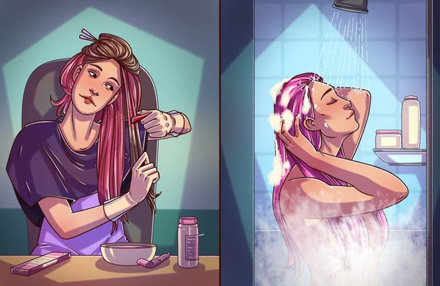10 bí quyết giữ màu tóc nhuộm lâu bất ngờ - Ảnh 1.