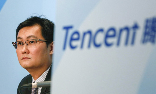 Giá trị của Tencent vượt Facebook - Ảnh 1.