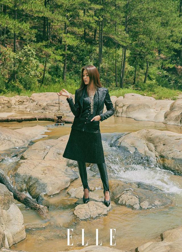 Tăng Thanh Hà cực sang chảnh trên bìa tạp chí - Ảnh 5.