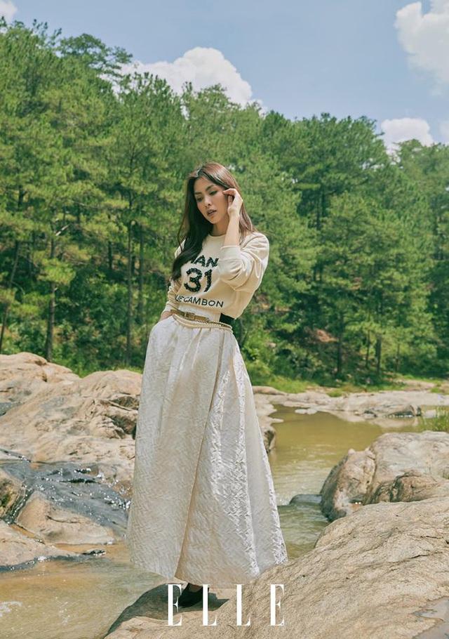 Tăng Thanh Hà cực sang chảnh trên bìa tạp chí - Ảnh 3.