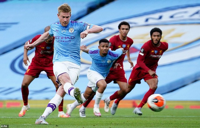 Xem lại Man City vs Liverpool, Ngoại hạng Anh – 3/7/2020
