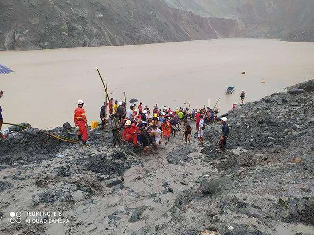 Thảm họa sập mỏ ngọc bích tại Myanmar: Con số thiệt mạng tăng lên 162 người - Ảnh 3.