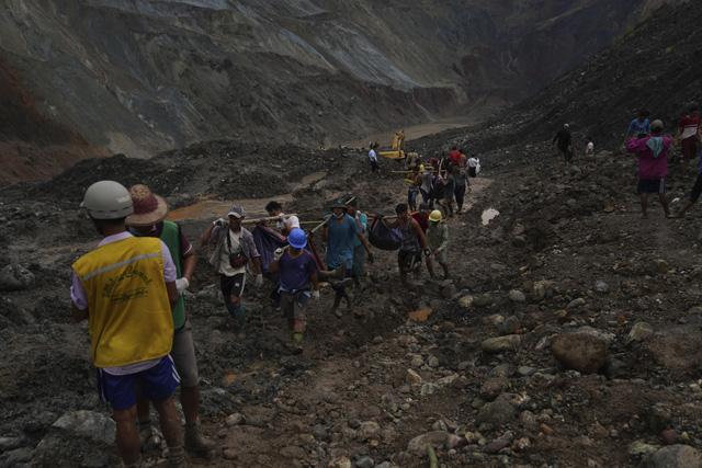 Thảm họa sập mỏ ngọc bích tại Myanmar: Con số thiệt mạng tăng lên 162 người - Ảnh 2.