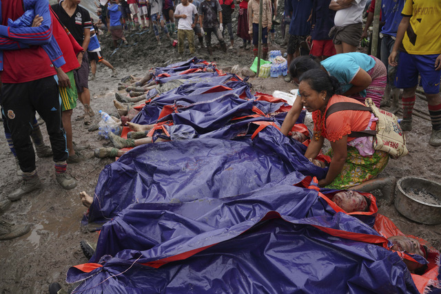 Thảm họa sập mỏ ngọc bích tại Myanmar: Con số thiệt mạng tăng lên 162 người - Ảnh 4.