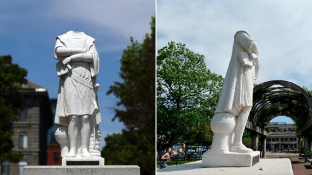Mỹ tăng cường bảo vệ hàng trăm tượng đài nhân vật lịch sử trước nguy cơ bị phá hoại - Ảnh 1.