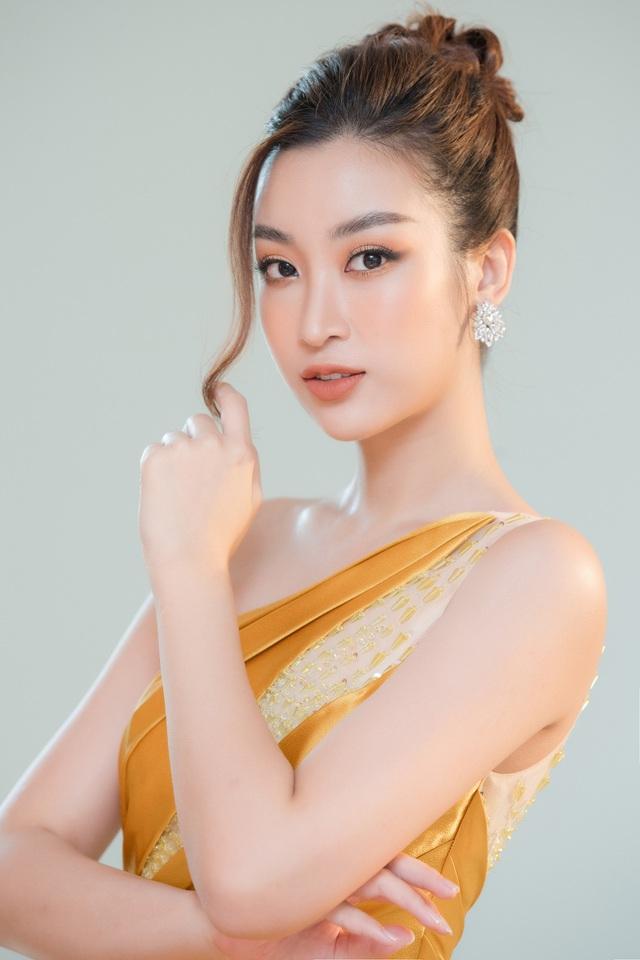 """Bộ đôi Hoa hậu """"song Linh"""" đọ độ nóng bỏng khi """"đụng"""" đầm vàng - Ảnh 4."""