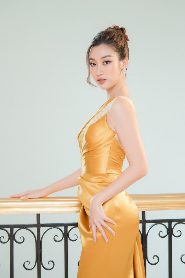 """Bộ đôi Hoa hậu """"song Linh"""" đọ độ nóng bỏng khi """"đụng"""" đầm vàng - Ảnh 5."""