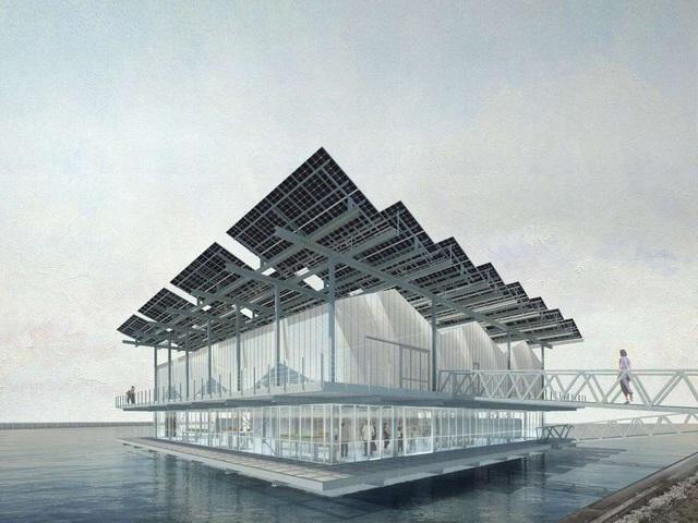 Ghé thăm trang trại gà khổng lồ trên nước tại Hà Lan - Ảnh 3.