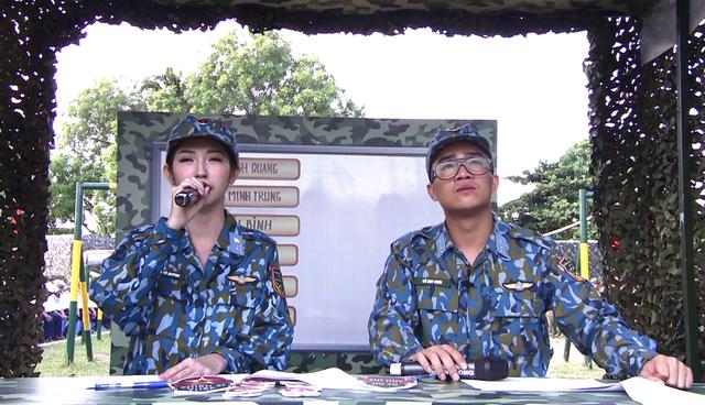 Khổng Tú Quỳnh tranh tài trở thành chỉ huy ưu tú trong Chiến sĩ 2020 - Ảnh 1.