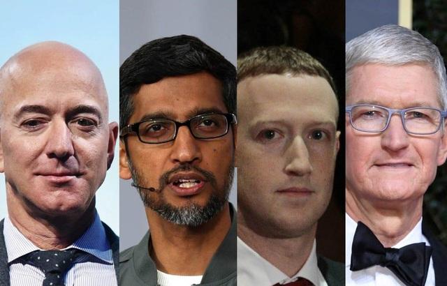"""""""Bộ tứ quyền lực"""" công nghệ Mỹ ra điều trần về hành vi độc quyền - Ảnh 1."""