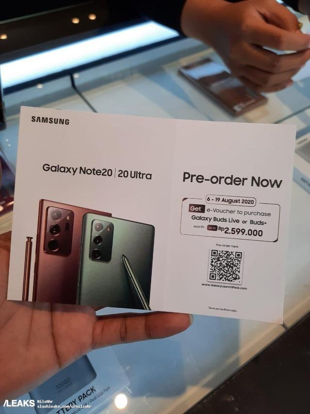 Đặt mua sớm Galaxy Note 20 để được sở hữu tai nghe Galaxy Buds Live miễn phí? - Ảnh 1.