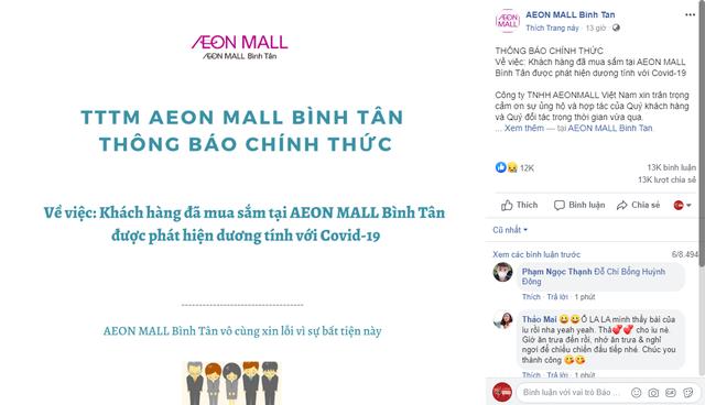 Thực hư thông tin bệnh nhân COVID-19 số 450 trốn viện và từng đi siêu thị Aeon Mall? - Ảnh 2.