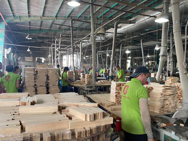 Đột ngột bị áp thuế 25%, gỗ ghép thanh ùn tắc tại nhiều cảng biển - Ảnh 4.