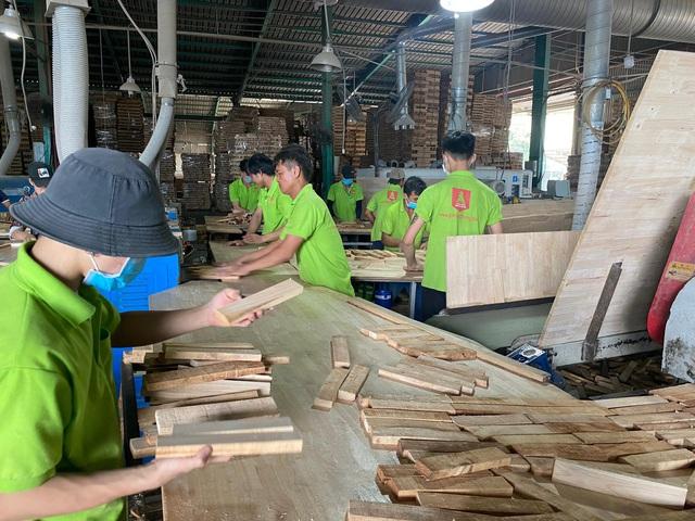 Đột ngột bị áp thuế 25%, gỗ ghép thanh ùn tắc tại nhiều cảng biển - Ảnh 6.