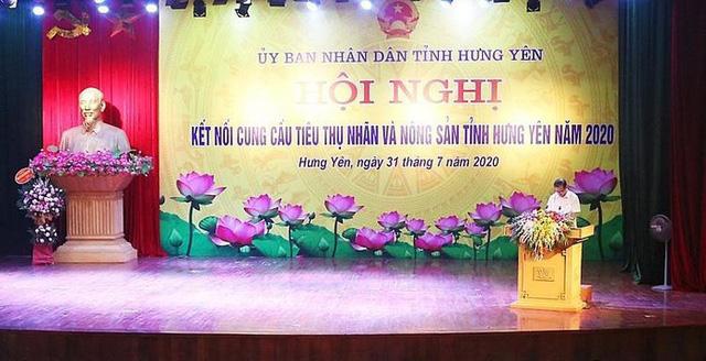 Kết nối cung cầu tiêu thụ nhãn và nông sản tại Hưng Yên - Ảnh 1.