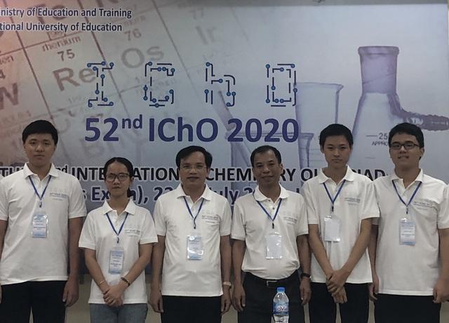 Tuyển Olympic Hóa học Việt Nam giành kết quả cao nhất từ trước đến nay - Ảnh 1.
