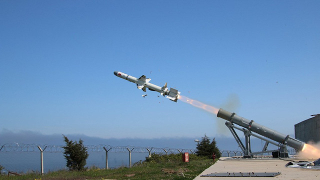 Thổ Nhĩ Kỳ phóng thử thành công tên lửa chống hạm sản xuất trong nước đầu tiên - Ảnh 1.