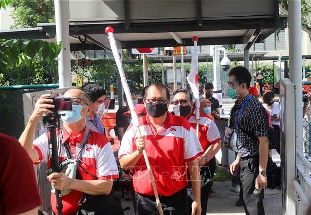 Nóng hoạt động tranh cử tại Singapore - Ảnh 1.