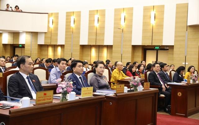 Chủ tịch Quốc hội: Hà Nội cần phát huy cơ chế đặc thù để phát triển - Ảnh 1.