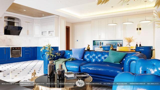 Classic Blue – soán ngôi vương xu hướng nội thất 2020 - Ảnh 1.
