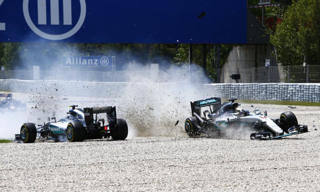 Lewis Hamilton và những lần va chạm đầy tranh cãi - Ảnh 2.