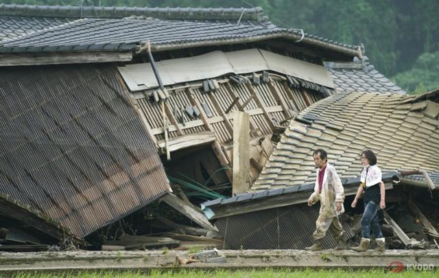 Mưa lũ kỷ lục tại Nhật Bản: Số người thiệt mạng tăng lên 44 người - Ảnh 1.