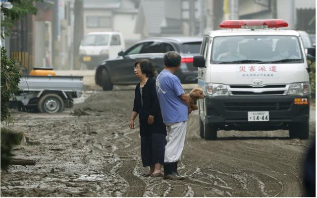 Mưa lũ kỷ lục tại Nhật Bản: Số người thiệt mạng tăng lên 44 người - Ảnh 8.