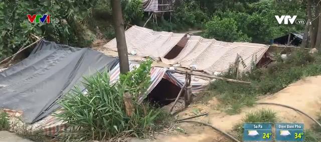 Tái diễn tình trạng khai thác vàng trái phép tại Bồng Miêu - Ảnh 1.