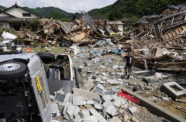 Mưa lũ kỷ lục tại Nhật Bản: Số nạn nhân thiệt mạng tăng lên 59 người - Ảnh 4.