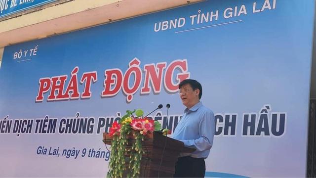 Phát động Chiến dịch tiêm vaccine phòng chống dịch bạch hầu tại 4 tỉnh Tây Nguyên - Ảnh 1.