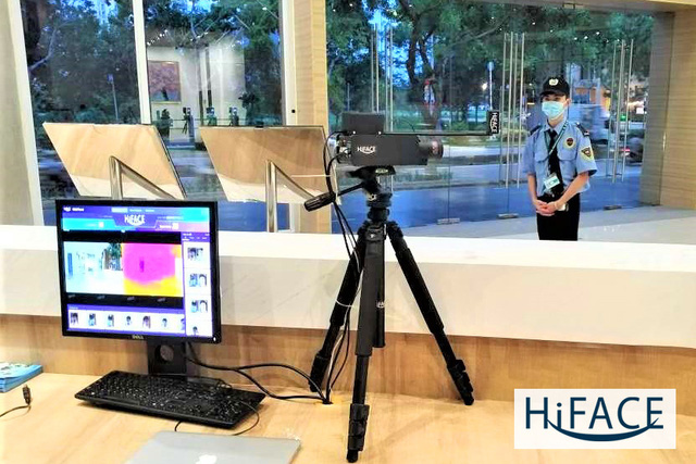 Ra mắt giải pháp nhận diện khuôn mặt tích hợp đo thân nhiệt HiFACE++ - Ảnh 1.