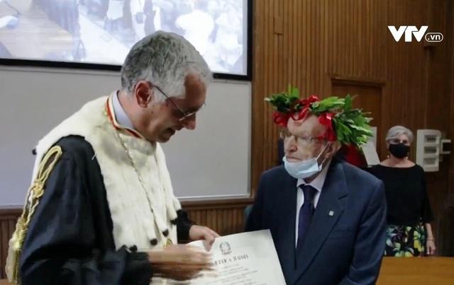 Sinh viên lớn tuổi nhất Italy tốt nghiệp đại học ở tuổi… 96 - Ảnh 1.