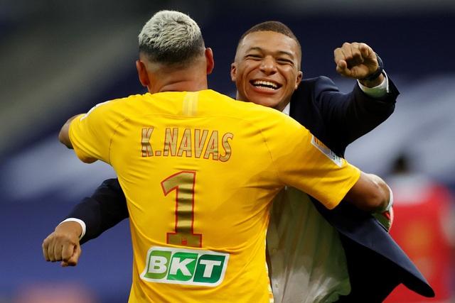Vượt qua Lyon sau loạt đá luân lưu, PSG vô địch Cúp Liên đoàn Pháp - Ảnh 2.