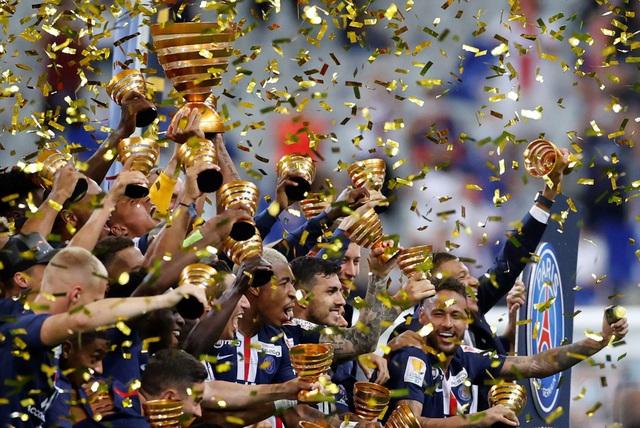 Vượt qua Lyon sau loạt đá luân lưu, PSG vô địch Cúp Liên đoàn Pháp - Ảnh 3.