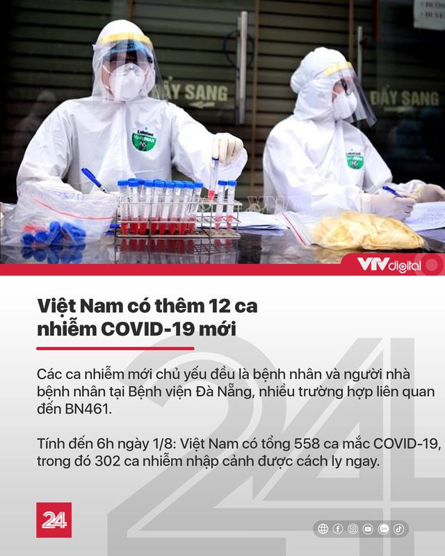 Tin nóng đầu ngày 1/8: Cán bộ ở Quảng Ngãi tổ chức cưới cho con lúc cấm tụ tập, Việt Nam có 558 ca COVID-19 - ảnh 2