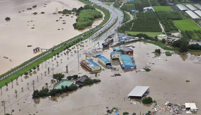 Mưa lũ gây thiệt hại tại Hàn Quốc, ít nhất 30 người thiệt mạng - ảnh 2