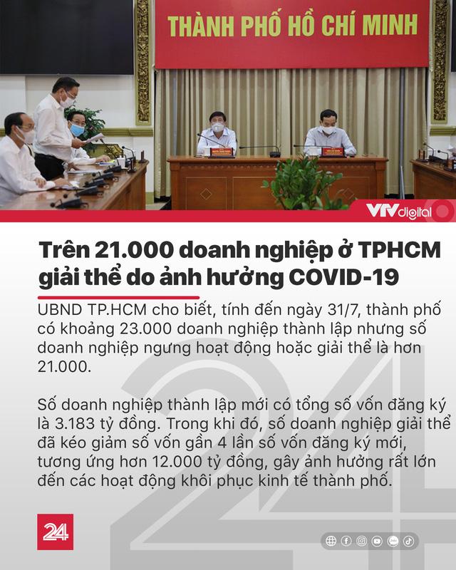 Tin nóng đầu ngày 11/8: Miền Bắc, miền Trung như cái lò; Hơn 21.000 DN TP.HCM giải thể vì COVID-19 - Ảnh 1.