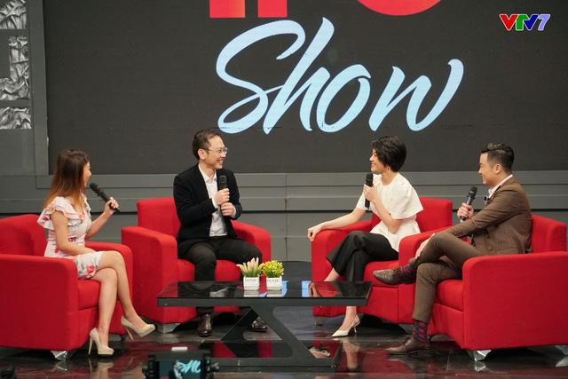 MC Phí Linh lần đầu tiên công khai chồng trên sóng truyền hình - ảnh 2