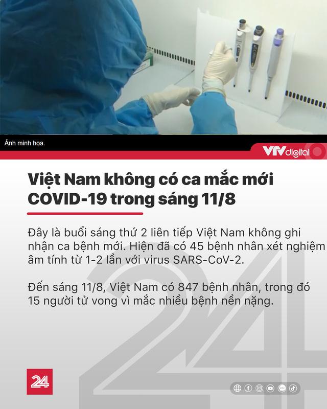 Tin nóng đầu ngày 11/8: Miền Bắc, miền Trung như cái lò; Hơn 21.000 DN TP.HCM giải thể vì COVID-19 - Ảnh 3.