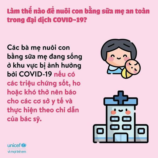 Nuôi con bằng sữa mẹ trong bối cảnh dịch COVID-19 - Ảnh 7.