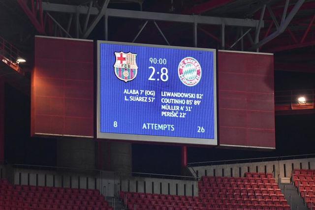 Barca 2-8 Bayern Munich: Sau 74 năm, Barcelona mới lại thua đậm đến vậy - Ảnh 1.