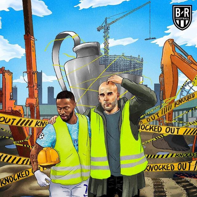 Ảnh chế sau trận Lyon thắng Manchester City - Ảnh 7.