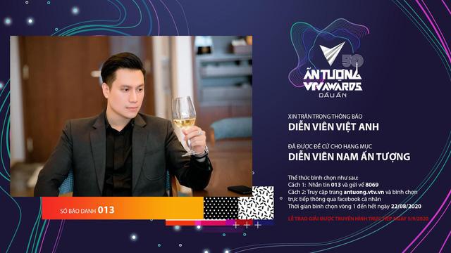 Dính SBD 13 tại VTV Awards 2020, diễn viên Việt Anh lại thấy đặc biệt - Ảnh 2.