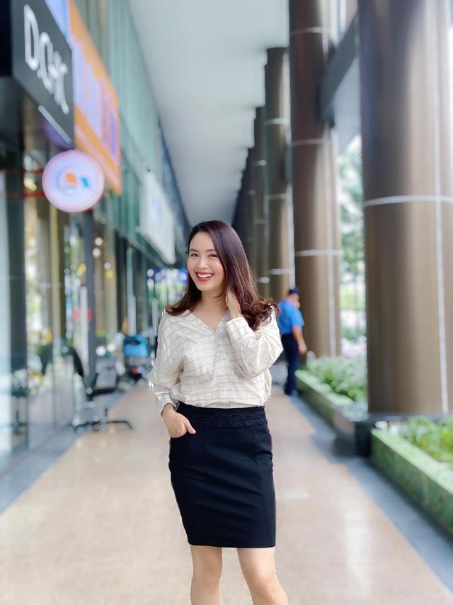 Hồng Diễm: Nguồn cảm hứng tuyệt vời cho những cô nàng công sở - Ảnh 4.