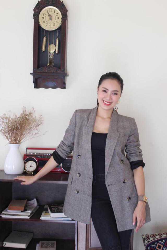 Hồng Diễm: Nguồn cảm hứng tuyệt vời cho những cô nàng công sở - Ảnh 6.