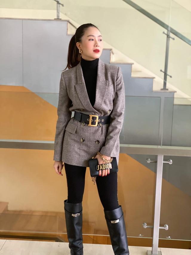 Hồng Diễm: Nguồn cảm hứng tuyệt vời cho những cô nàng công sở - Ảnh 9.
